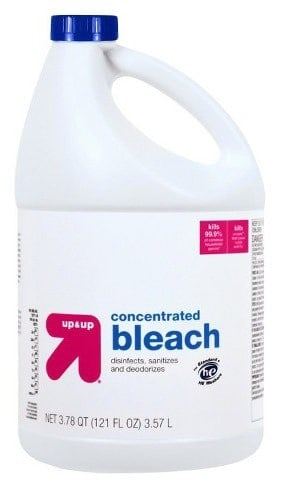 jug of bleach