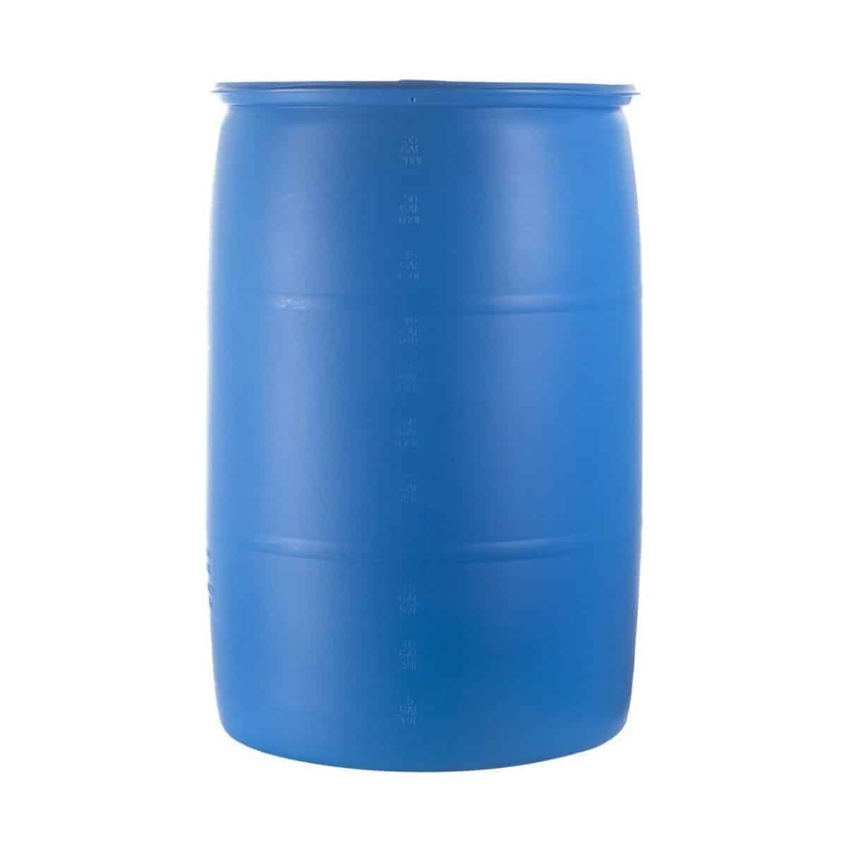 Blue Water Barrel