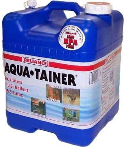 reliance aquatainer