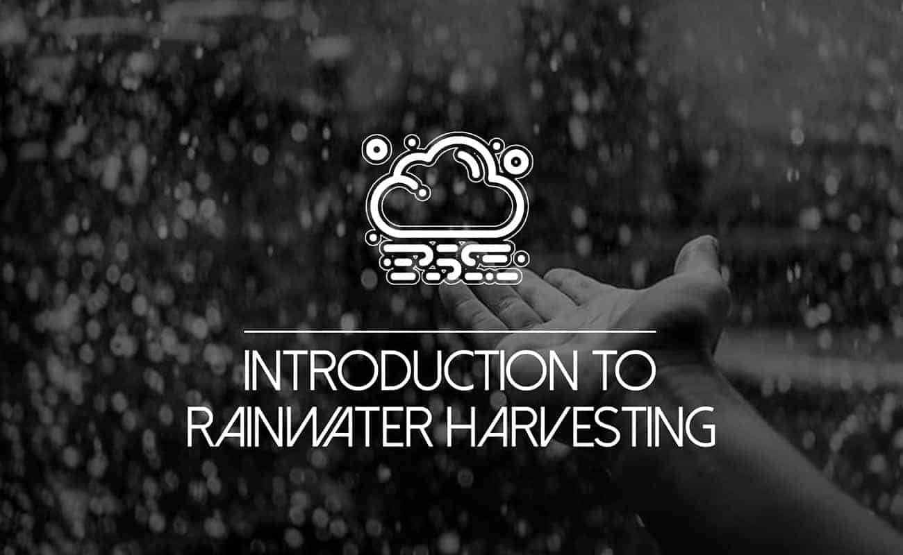 """Featured image for """"Introduction to Rainwater Harvesting"""""""