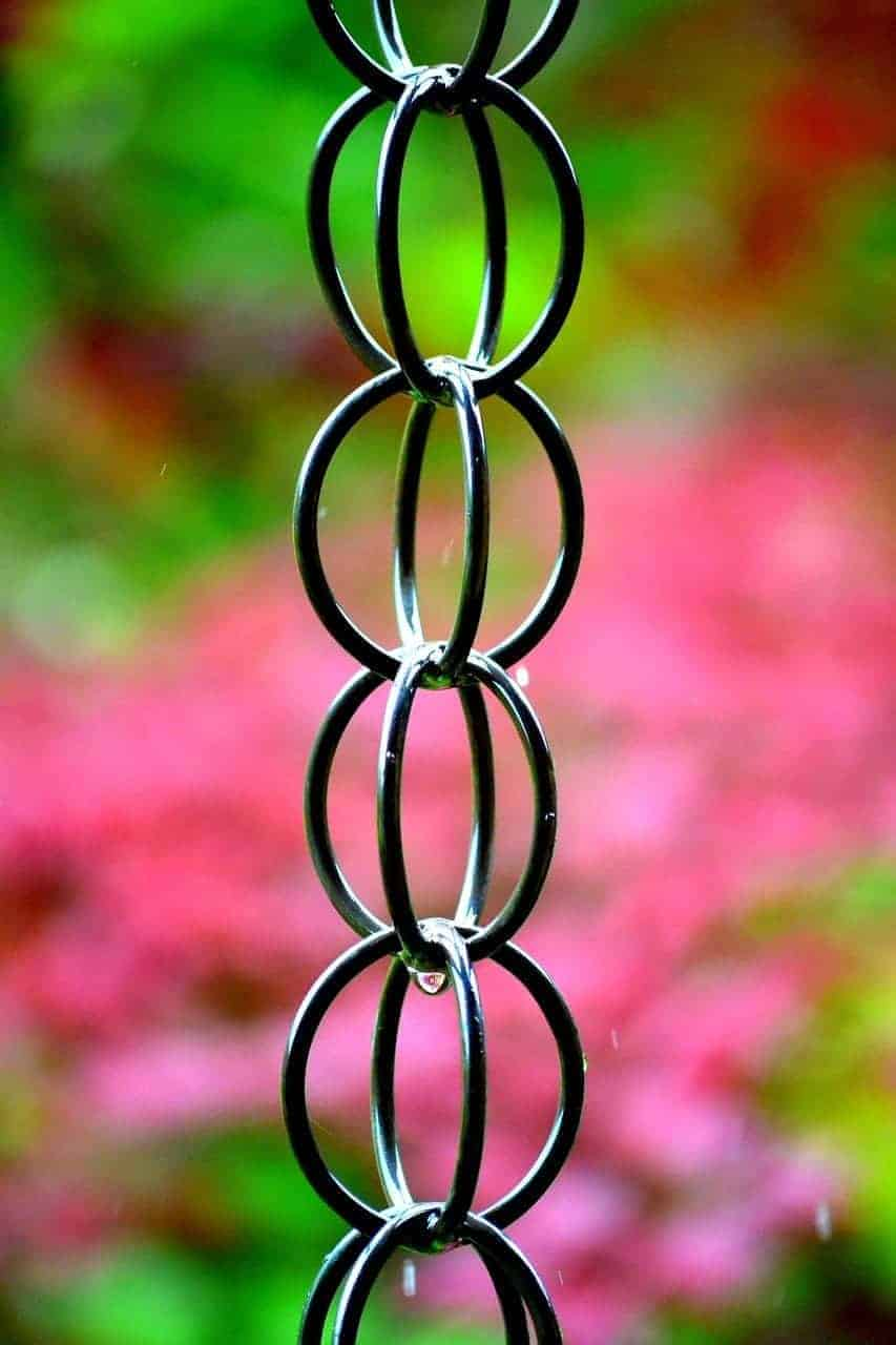 Rain Chain Rings