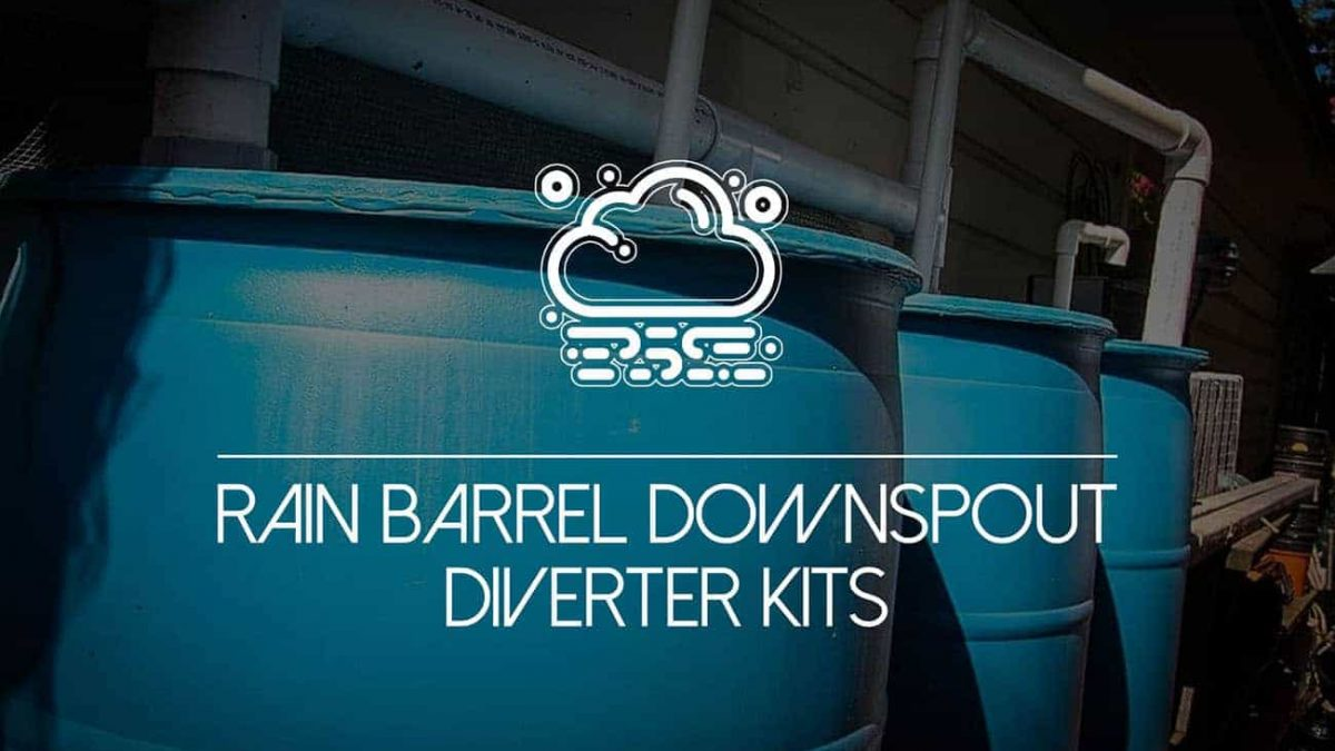 Why You Should Install A Rain Barrel Downspout Diverter Kit World Water Reserve