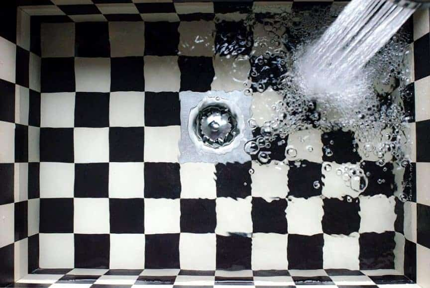 checkered sink / pxhere