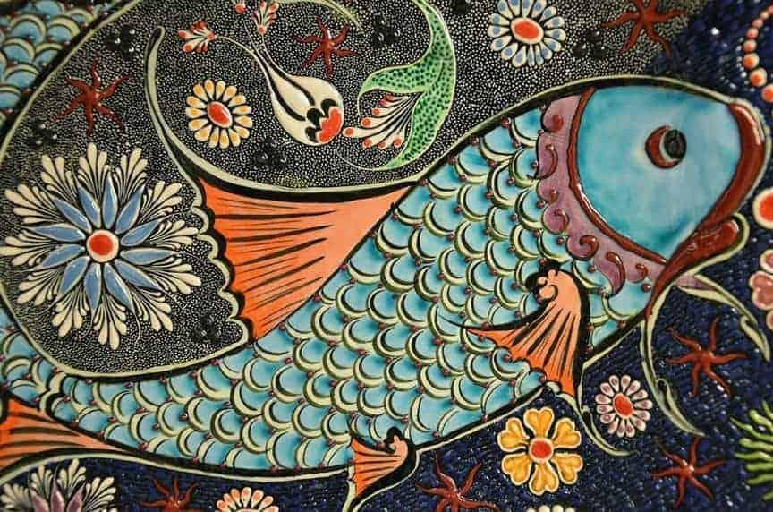 mosaic fish / pixabay