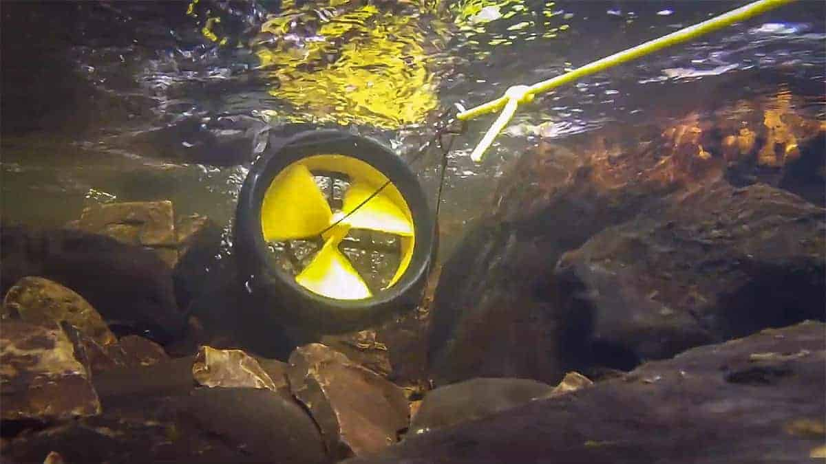 Water Lily Turbine Underwater / The Henry Ford / Youtube