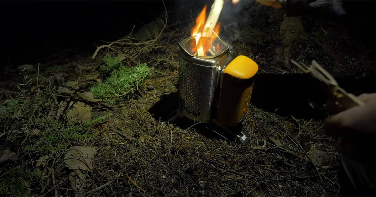 Biolite Campstove / InnerBark Outdoors / Youtube