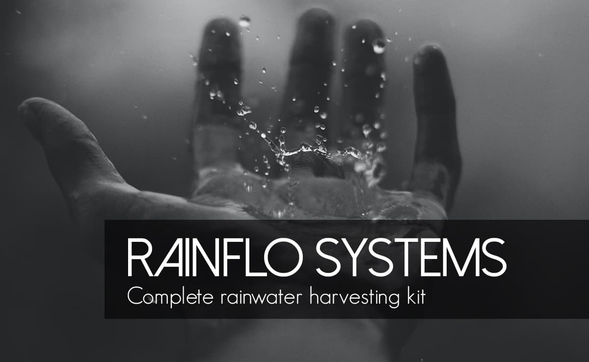 """Featured image for """"RainFlo 430: Complete Rainwater Harvesting System"""""""
